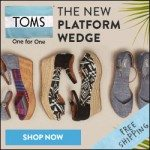 Toms Coupon Codes: $10 Off & Free Shipping Promo Codes for January 2017